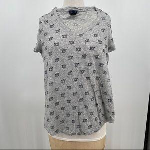 Torrid leopard face t shirt plus size medium large